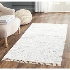 6 X 4 Area Rug Safavieh Woven Rag Rug Ivory Cotton Rug 6 X 9 By Safavieh