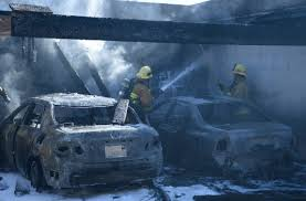 carport fire damages 4 cars at reseda apartment building u2013 daily news