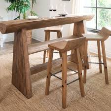 bar or counter stools hewn wood bar counter stools west elm