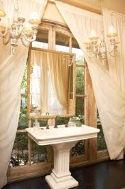Mirror That Looks Like Window by Vintage Bathroom Makeover Traditional Bathroom Decoration