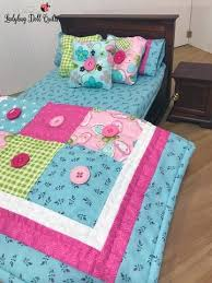 Barbie Doll Quilt Patterns