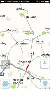 Waze Map Waze Adds A Smart Traffic Bar But Is Still Missing Iphone 6