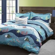 Starfish Comforter Set Beach U0026 Nautical Bedding Sets