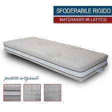 materasso rigido materasso in lattice sfoderabile rigido altezza 18 20