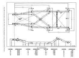 c5 corvette dimensions c1 frame measurements help needed corvetteforum chevrolet
