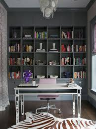grey bookcase houzz
