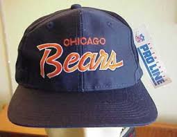 chicago bears hat vacation decore