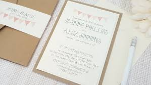 handmade wedding invitations handmade wedding invitations pocketfold invitations bunting