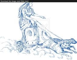 freya norse goddess of love and beauty image yayimages com