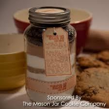 mason jar cookie gifts aspiring socialite