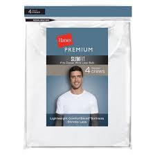 Hanes Our Most Comfortable T Shirt Hanes Premium Men U0027s 6pk Crew Neck T Shirt White Target