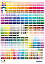 pantone matching system color chart mcloone