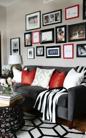 25 best grey and white rug ideas on pinterest black and grey diy budget gallery wall update valentines gallery wall diy gallery wall update red black and white living room gallery wall this is our bliss www