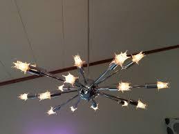 18 Light Starburst Chandelier It U0027s All About The Sputniks The House On Rynkus Hill