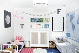 Cool Kids Rooms Decorating Ideas by 45 Wonderful Shared Kids Room Ideas Digsdigs