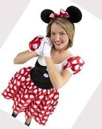 Tween Minnie Mouse Halloween Costume Red Minnie Mouse Kids Tween Costume Mickeys Friend Disney