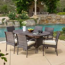 Selling Home Decor Best Selling Home Decor Coronado Outdoor 7 Piece Wicker Oval Table