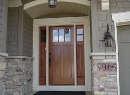 Shaker Style Exterior Doors Exterior Doors Craftsman Style Front Door With Sidelights