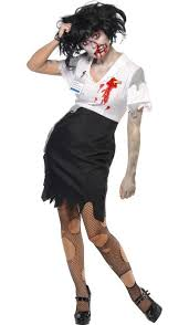Zombie Costume Worked To Death Secretary Zombie Costume Zombie Halloween Costume
