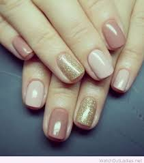 simple and gold nail design inspiration fall winter nail