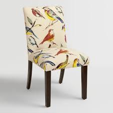 custom upholstered dining room chairs world market