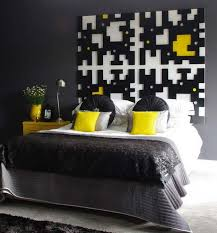 black white and yellow bedroom black and yellow bedroom modern bedroom toronto by windsor