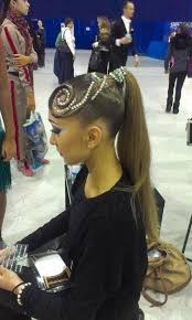 hair styles with rhinestones 121 best ballroom hair images on pinterest hairstyles eyes and