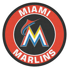 Area Rugs Miami Marlins Logo Roundel Mat 27