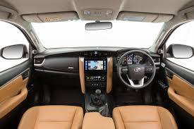 suv toyota inside 2016 toyota fortuner interior carsautodrive