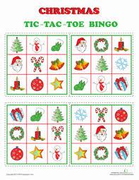 printable christmas bingo cards pictures christmas bingo worksheet education com
