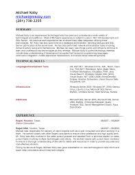 Resume Access Impressive Resume Database Microsoft Access Also Oracle Dba Cv