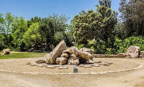 take a tour of one of the world u0027s largest rock gardens from the