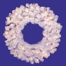 vickerman 48 lighted artificial wreath wayfair
