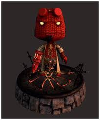 Hellboy Halloween Costume Littlebigplanet Sackboys Sackgirls Week
