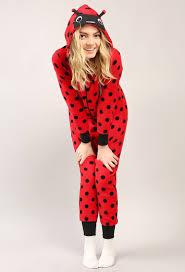 pj jumpsuit ladybug plush pj jumpsuit shop clothing at papaya clothing