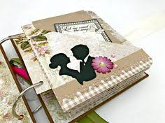 personalized wedding scrapbook wedding album personalized wedding gift memory book