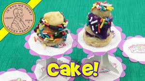 yummy nummies birthday cake maker diy mini food kit youtube