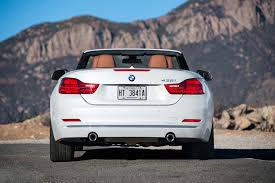 lexus rc vs bmw 435i 2014 bmw 435i convertible first test motor trend