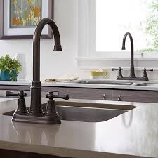 kitchen cabinet sink faucets portsmouth 2 handle high arc bar sink faucet american standard