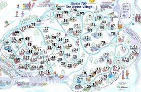 Washington Maps by Strata 799 The Alpine Village Maps