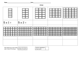 arrays 5 time tables by ruthbentham teaching resources tes