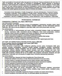 Security Officer Resume Examples And Samples by Sample Security Resume 9 Examples In Word Pdf