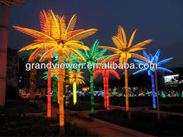 made in china led coconut tree light palm tree lights popular in