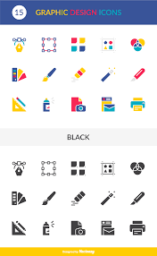 design icons free vector graphic design vector icons pack just creative
