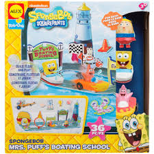 Spongebob Bathroom Decor by Alex Toys Spongebob Mrs Puff U0027s Boating Walmart Com