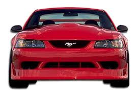 99 04 mustang kit cobra r front bumper kit 1 pc for ford mustang 99 04 duraflex