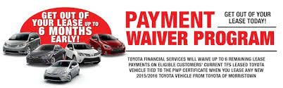toyota financial car payment toyota payment waiver toyota financing serving randolph