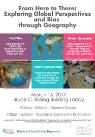Boston Maps Google Com by From Here To There Exploring Global Perspectives And Bias Through