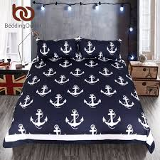 Anchor Bedding Set Beddingoutlet Anchor Bedding Set Size For Boy Bedclothes