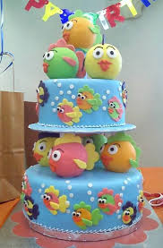 amazing birthday cakes amazing birthday cake with fishes